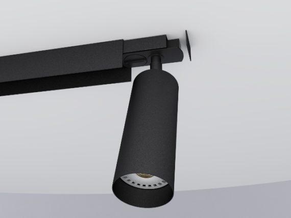 foco carril tubo 55