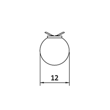 Plafón de empotrar Keppler 12 1