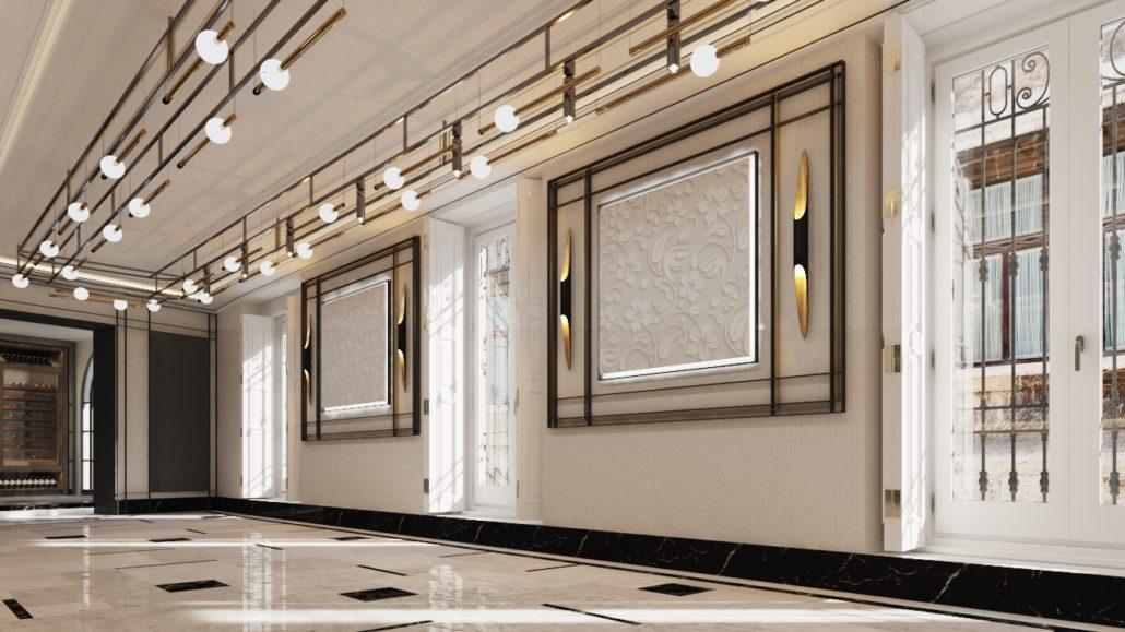 Lámpara Hotel Plaza Manises