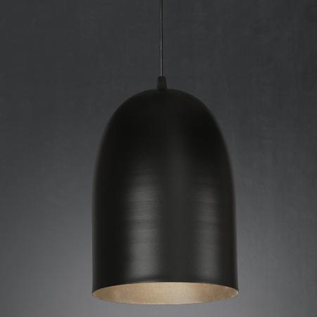 lámpara colgante alvar xl negro