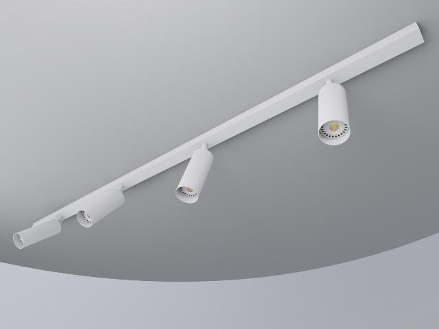 regleta blanca 4 focos tubo 55