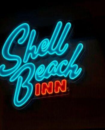 neon decorativo Shell Beach