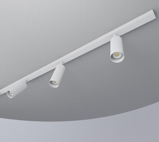 regleta tubo 55 3f blanco